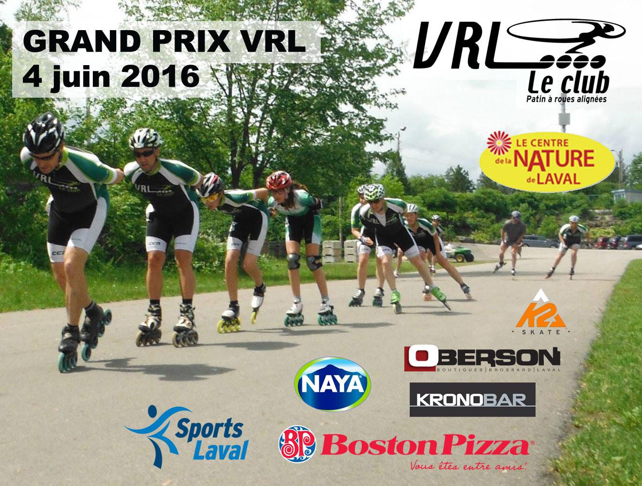 Grand prix VRL 4 juin 2016