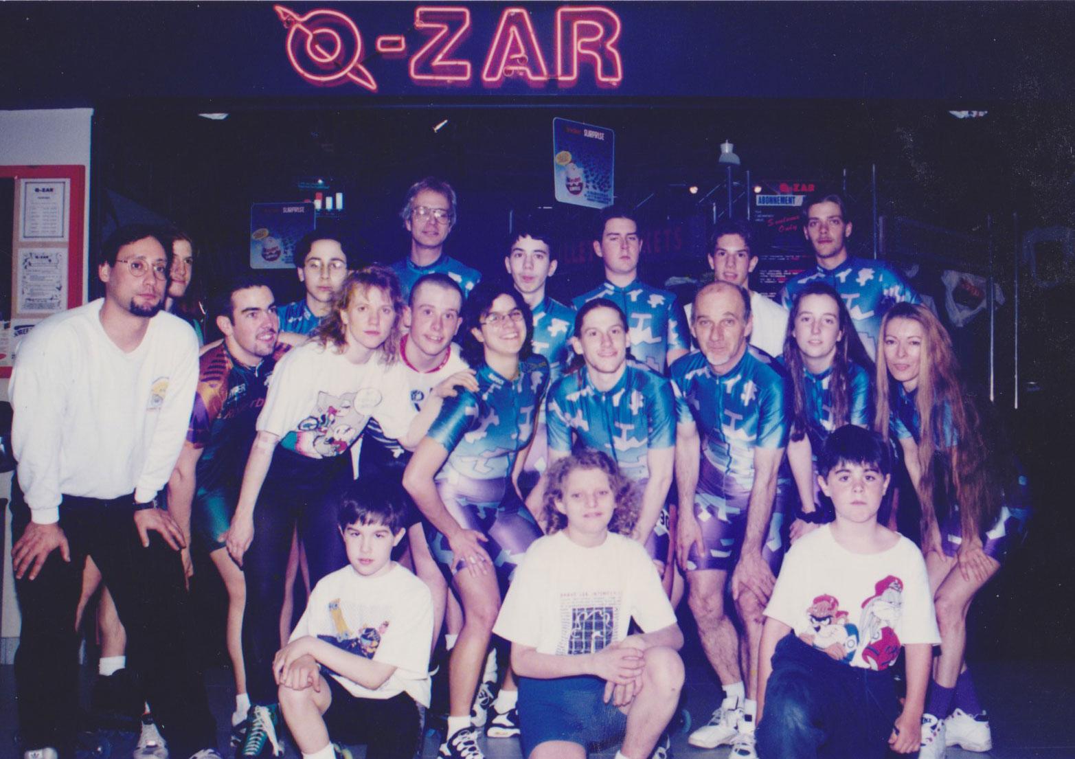 Équipe VRL Récréathèque 1996